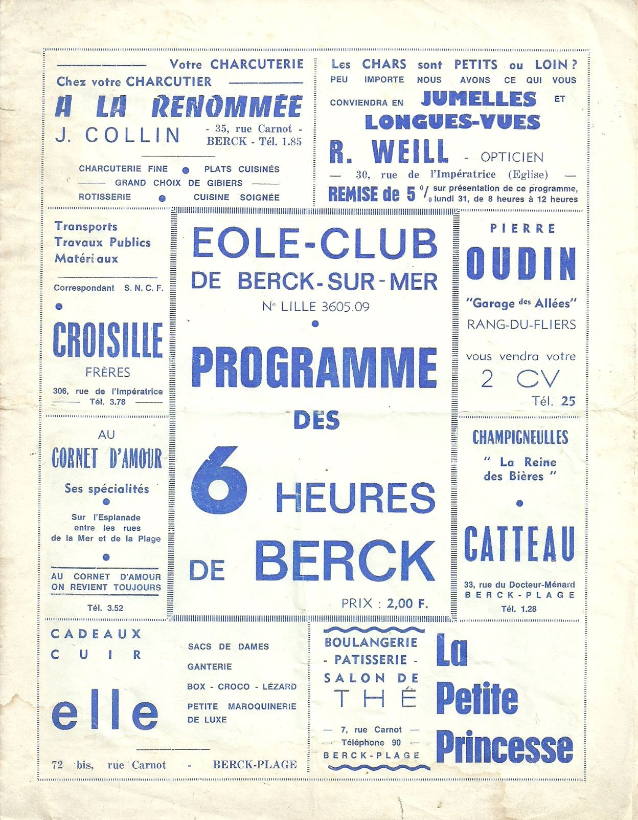 Affiche 1966