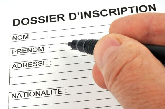 Dossier inscription